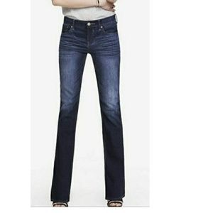 NWT Express Stella Boot Cut Jeans Low Rise Size 6L